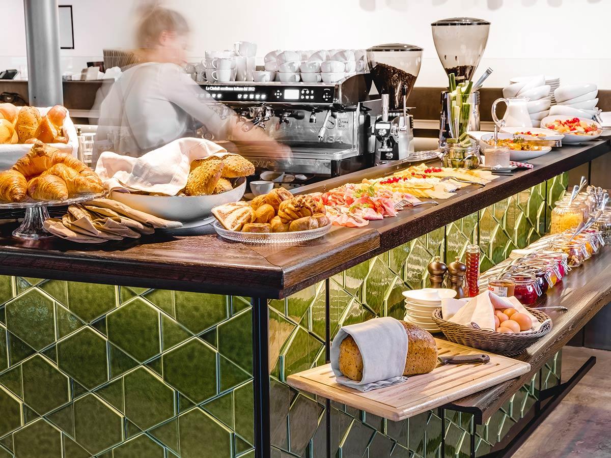 Frühstück im Hotel das Tschofen