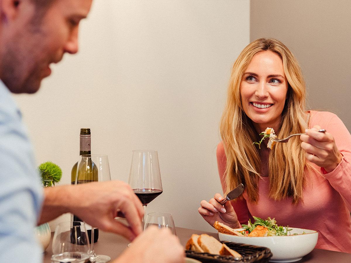 Abendessen im Tschofen